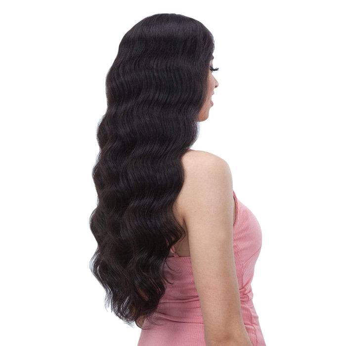 GF-L24 | Shake-N-Go Girl Friend Virgin Human Hair Lace Front Wig - Hair to Beauty | Color Shown: NATURAL