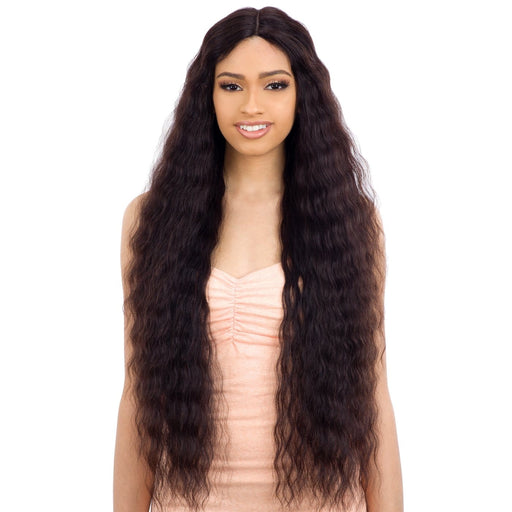 NATURAL 705 | Naked Human Hair Freedom 5 Inch Lace Part Wig - Hair to Beauty | Color Shown:NATURAL
