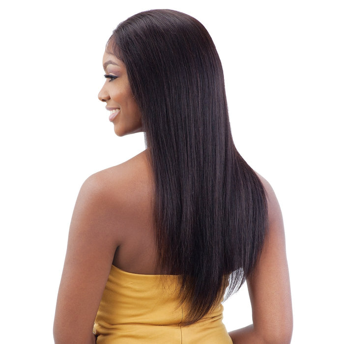 GF-S22 | Shake-N-Go Girl Friend Virgin Human Hair Lace Front Wig.