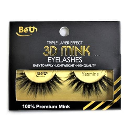 BE U | 3D Mink Eyelashes YASMINE.