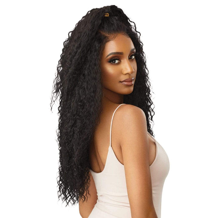 YVETTE | Perfect Hairline Synthetic 13x6 Lace Front Wig - Hair to Beauty | Color Shown : S1B/30