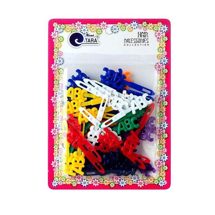 ZQ72049 | Assorted Color ABC Barrettes.