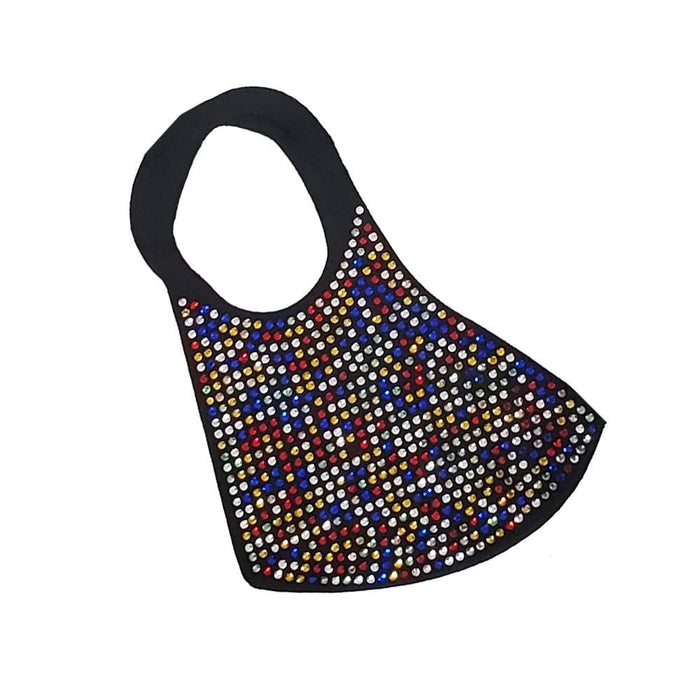 BE U | Bling Rhinestone Face mask - Hair to Beauty