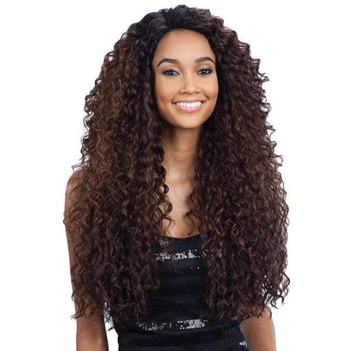 KITRON l FreeTress Synthetic Lace Front Deep Invisible L part Wig - Hair to Beauty l Color Shown: OP430