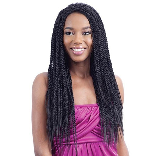 HOT SINGLE TWIST | Synthetic Lace Front Wig.