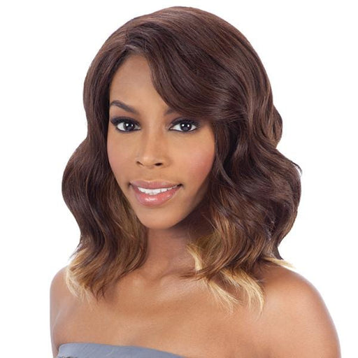 SOFTY | Synthetic Invisible Part Wig.