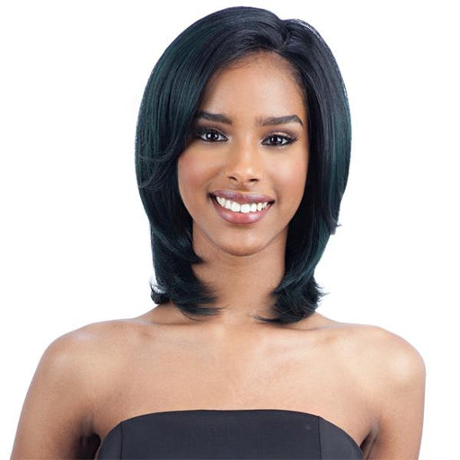 SAMALA l FreeTress Synthetic Premium Delux Wig - Hair to Beauty l Color Shown: OTFOREST