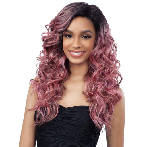 TOBY | Delux Synthetic Lace Front Wig.