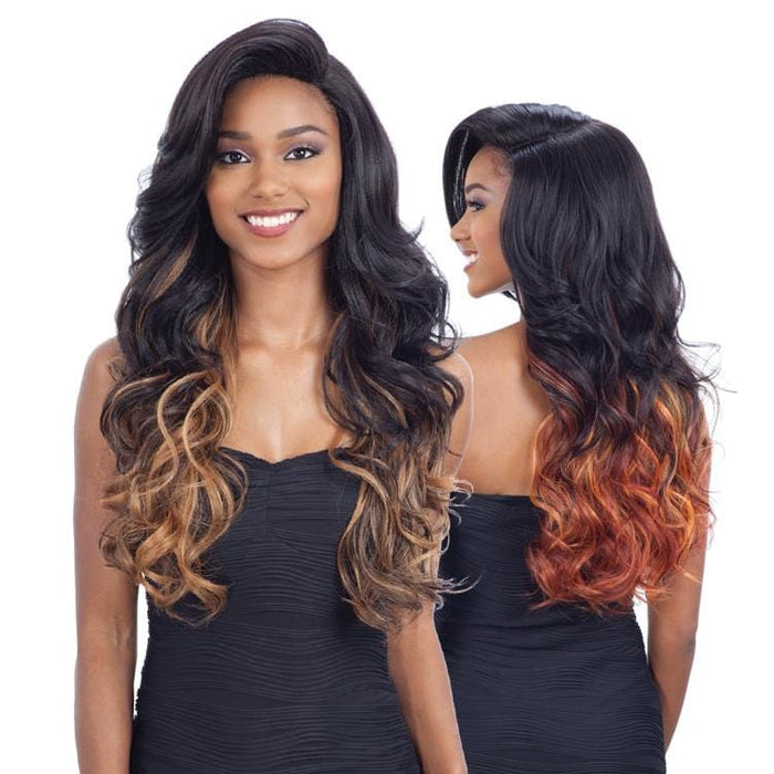 VINA | Synthetic Lace Part Wig.