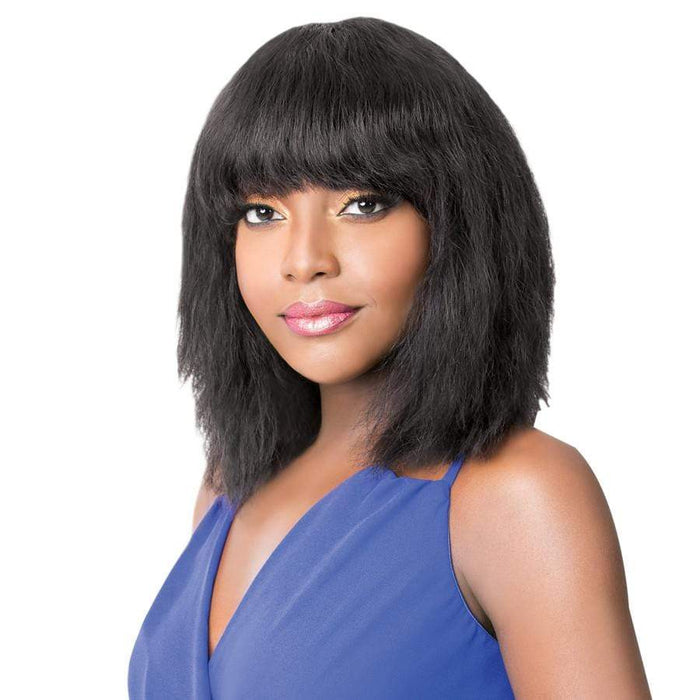 WET N WAVY NICK | Salon Remi Human Hair Wig - Hair to Beauty | Color Shown: 1B