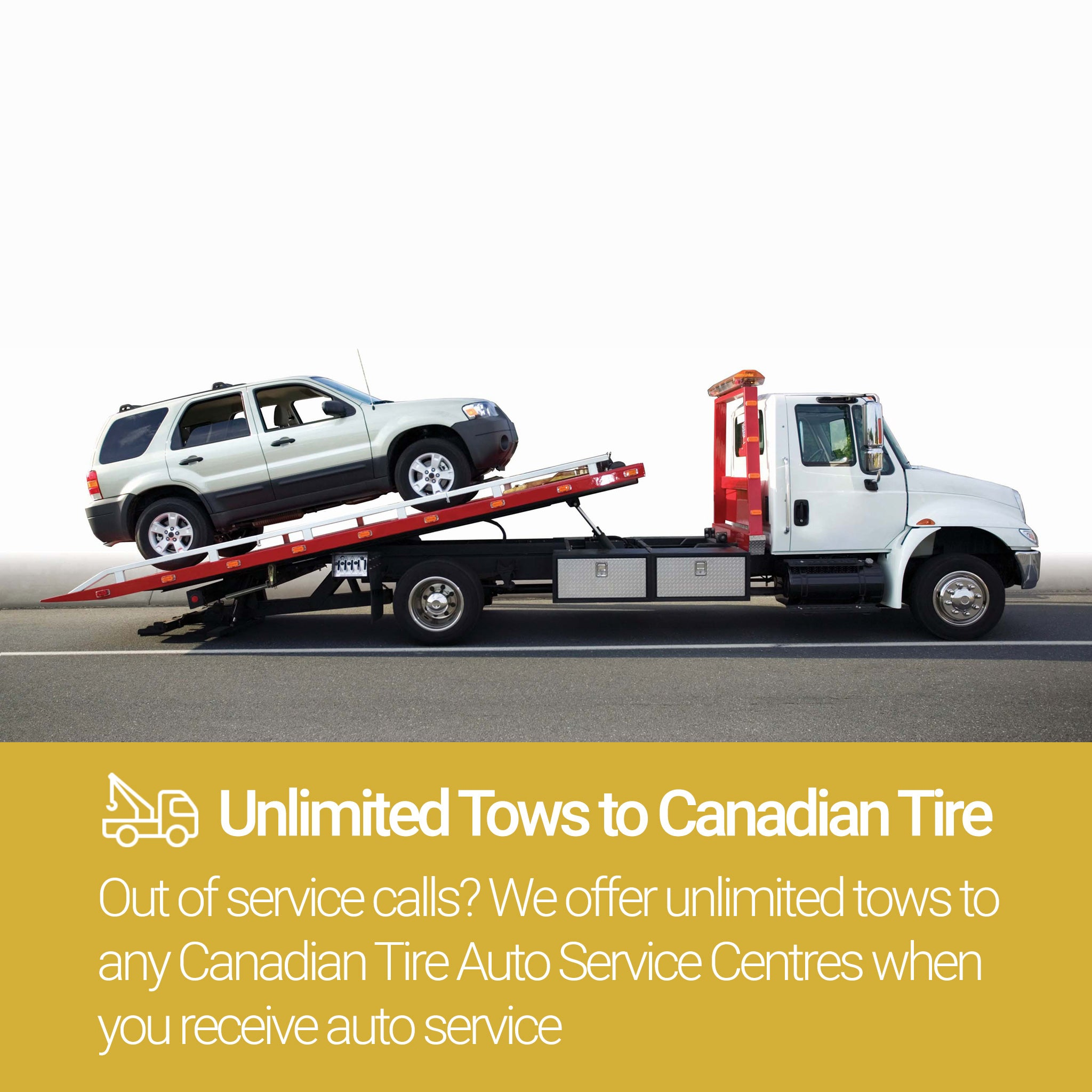 Roadside Assistance Gold Plan Unlimited Tows