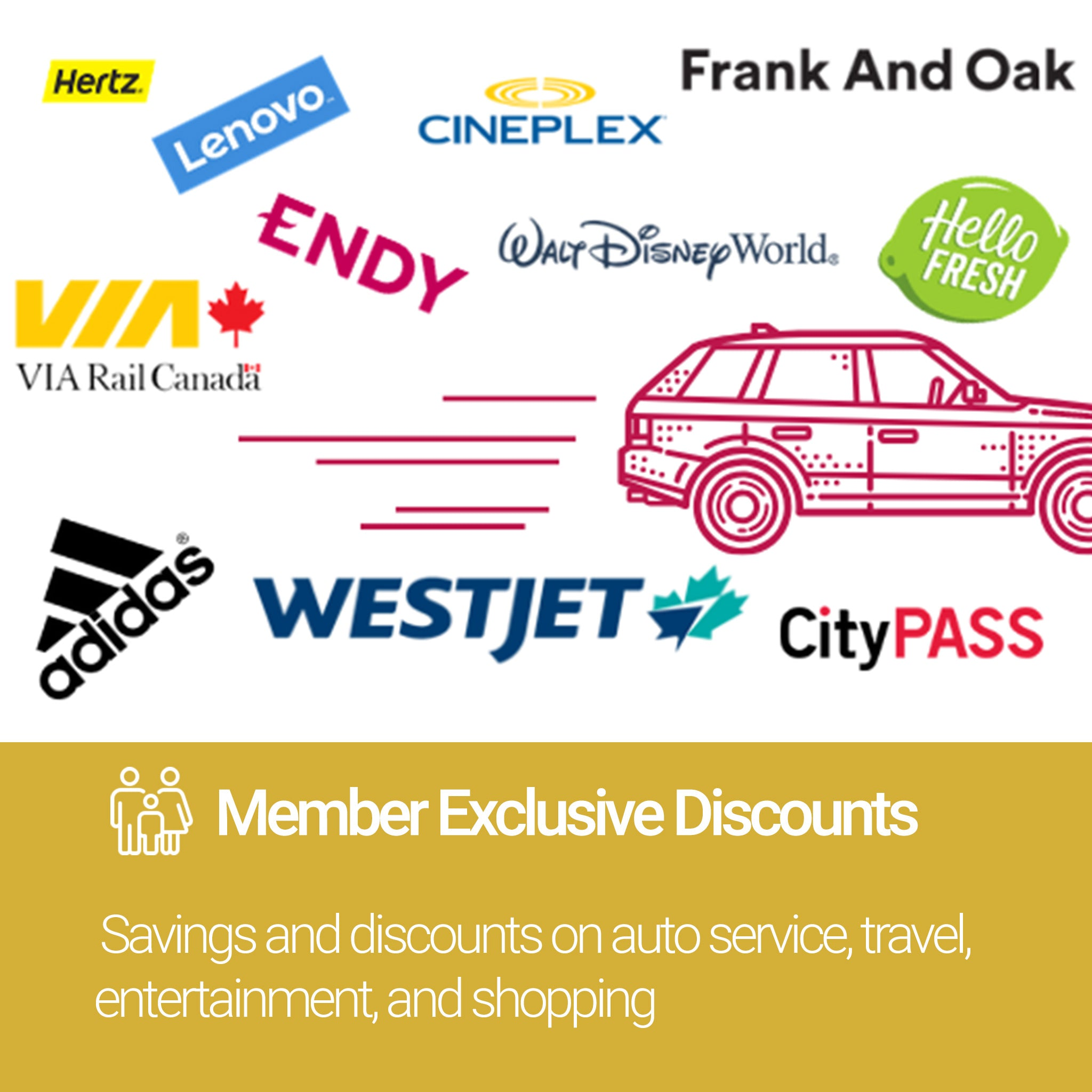 Roadside Assistance Gold Plan Member Discounts