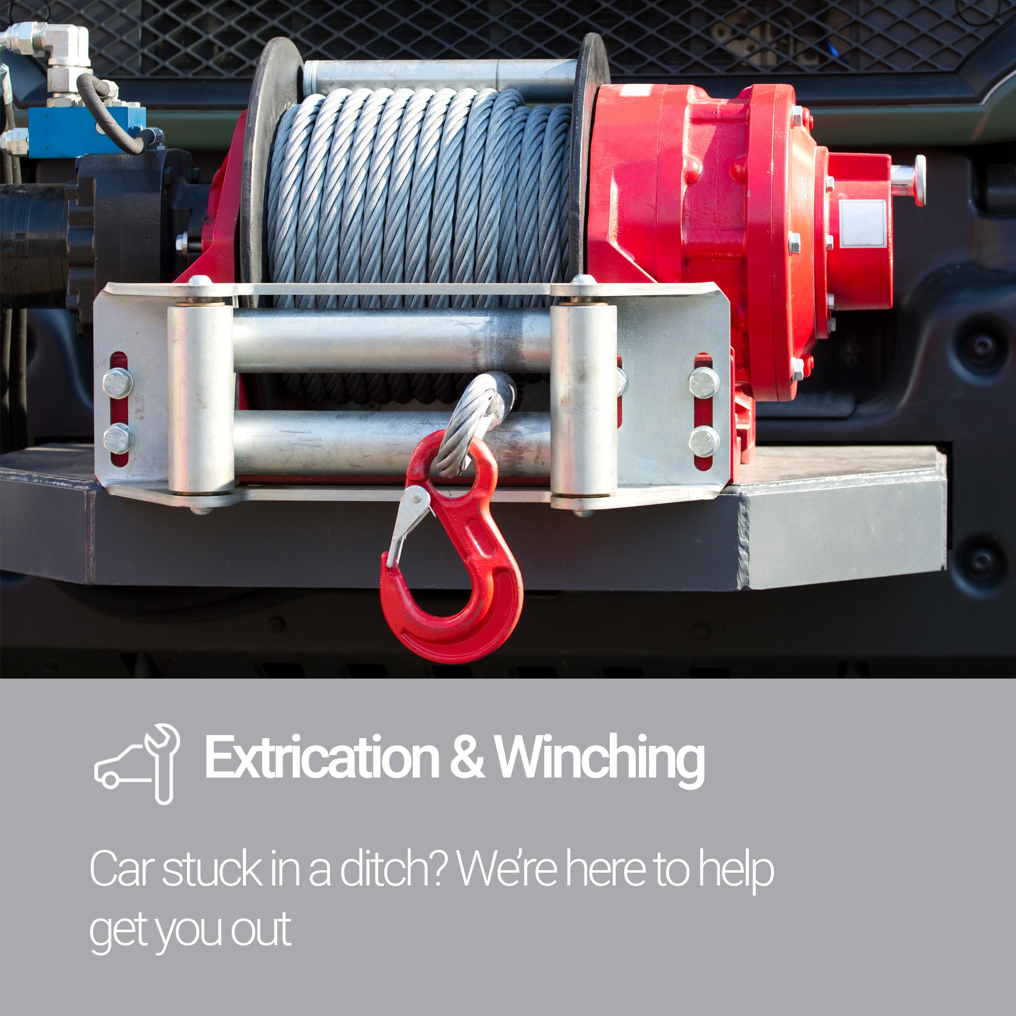 Roadsid Assistance Silver Plan Extrication and Winching Service