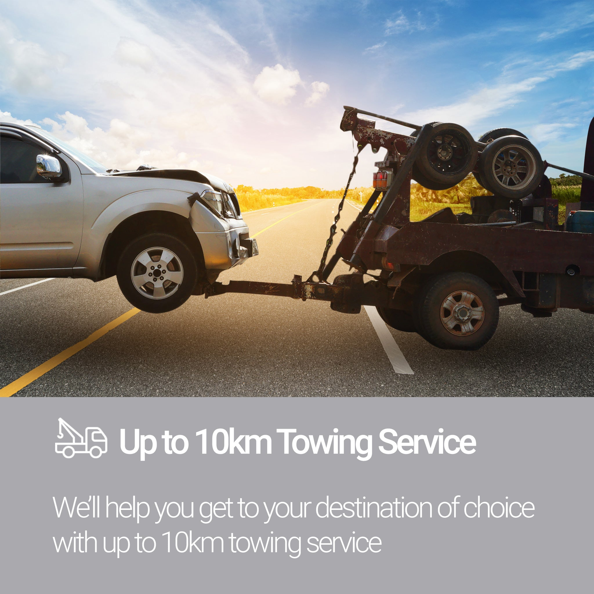 Roadside Assistance Silver Plan Towing Service