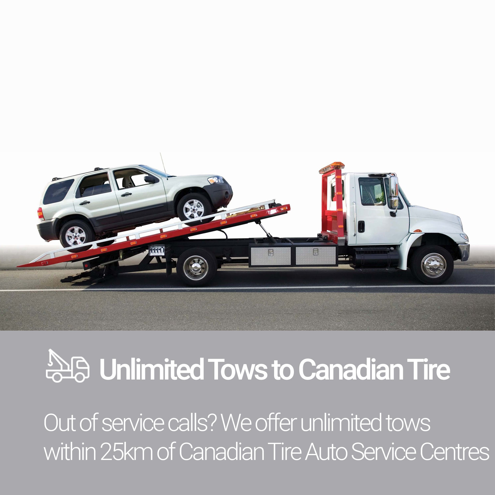 Roadside Assistance Silver Plan Unlimited Tows
