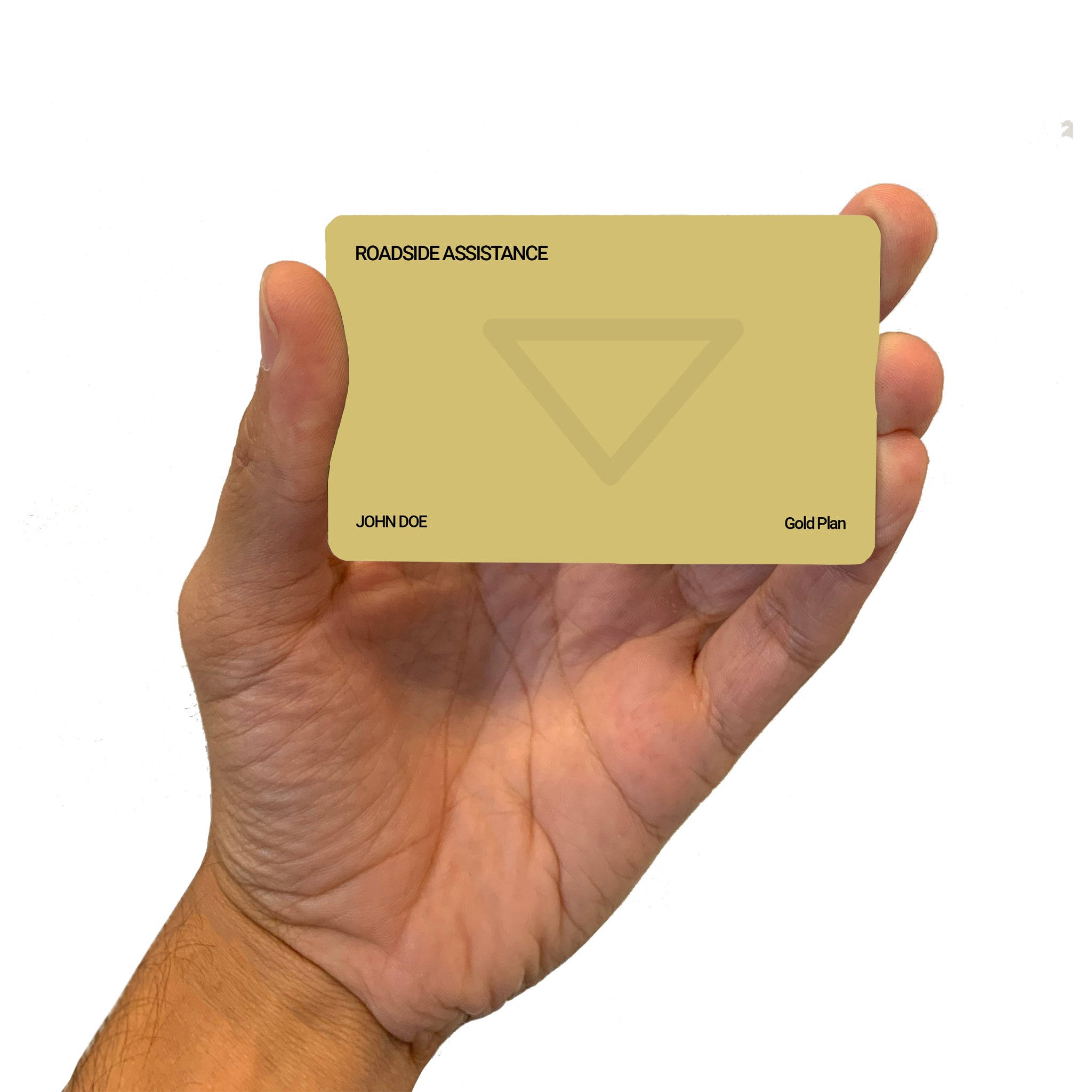 Roadside Assistance Gold Plan Card