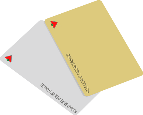 Programme de véhicule Or World Elite Mastercard Triangle