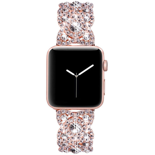 buy cheap rhinestone apple watch strap