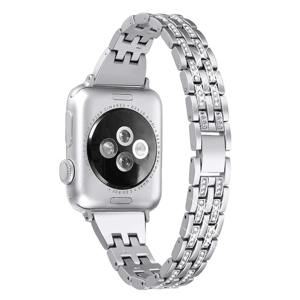 buy bling Apple Watch bands silver