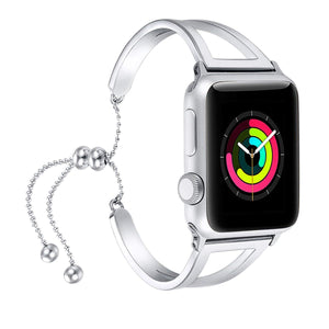 silver apple watch bands best buy