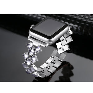 silver apple watch band 42mm