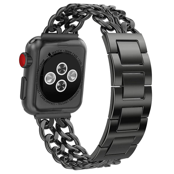 wrist band for apple watch 38mm series 3 black