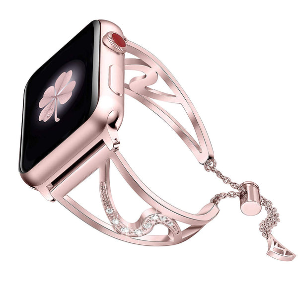 pretty rose gold apple watch bands series 3