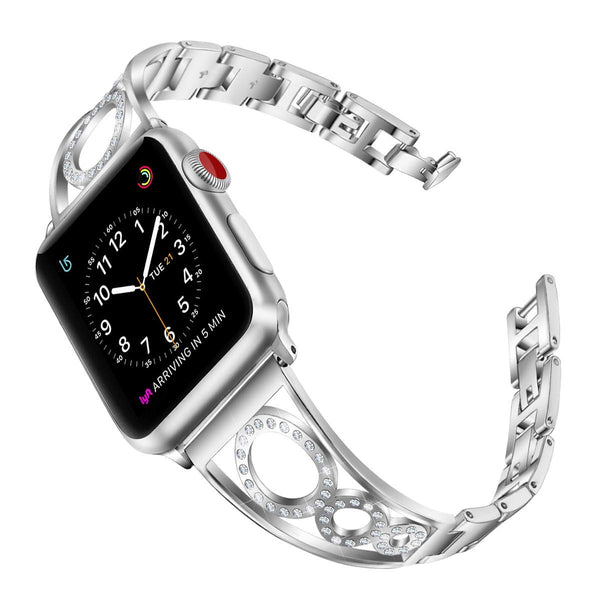 Unique Fashion Bling Bands Compatible With Apple Watch Series 4 40mm/44mm iwatch Series 3/2/1 38mm/42mm