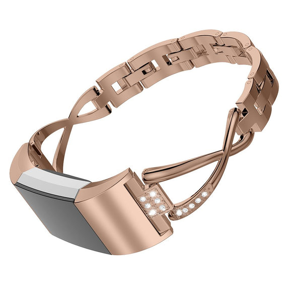 champagne gold apple watch bracelet band