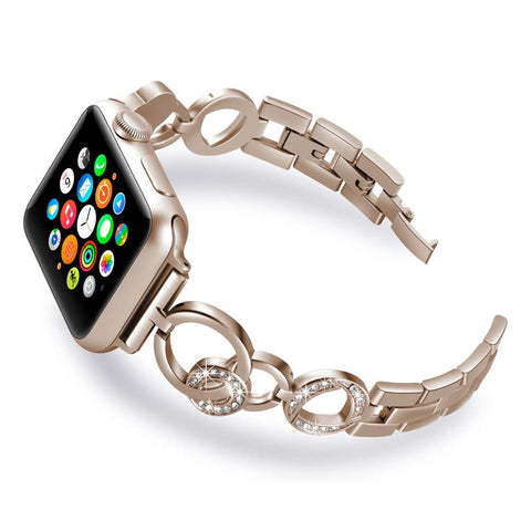 apple watch straps champagne gold