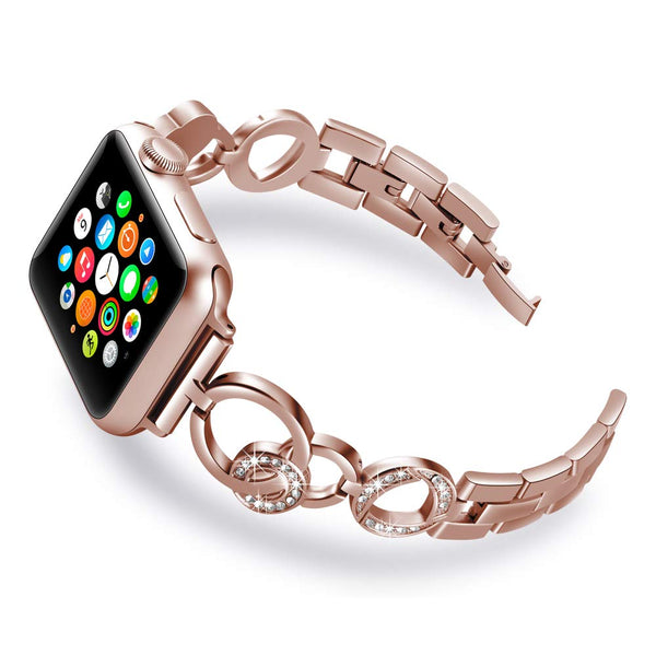 Band Compatible With Apple Watch 38mm/40mm Iwatch Series 4/3/2/1 Apple Watch 42mm/44mm Bracelet for Women