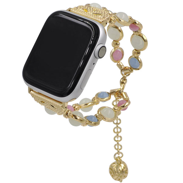 Watch Bands for Apple Watch with Luminous Beads Compatible with Iwatch Series 4/3/2/1