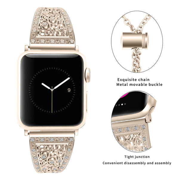 band for apple watch champagne gold