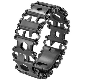 Fashion Man Outdoor Spliced Bracelet Multifunctional Wearing Screwdriver Tool Hand Chain Field Survival Bracelet