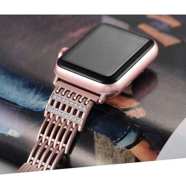 Bling Apple Watch Strap Bracelet 38mm/42mm/40mm/44mm for iWatch Series 4 3 2 1
