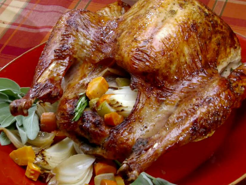Thanksgiving Pioneer-Style Herb Roasted Turkey