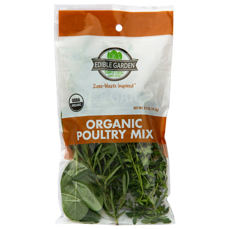 0.5oz Cut Organic Poultry Mix