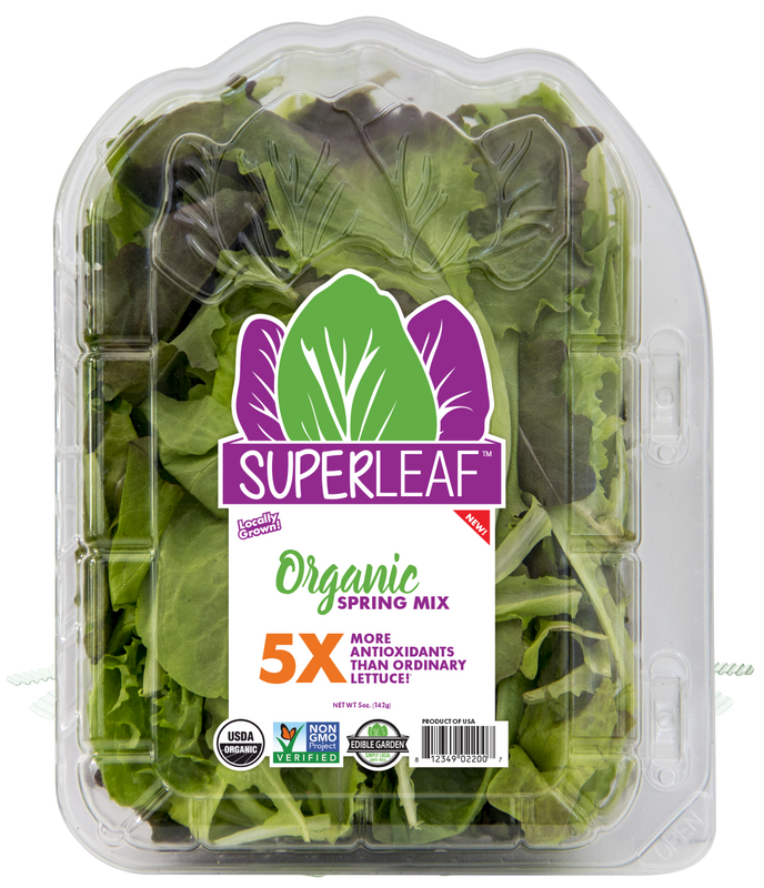 Superleaf Organic Spring Mix