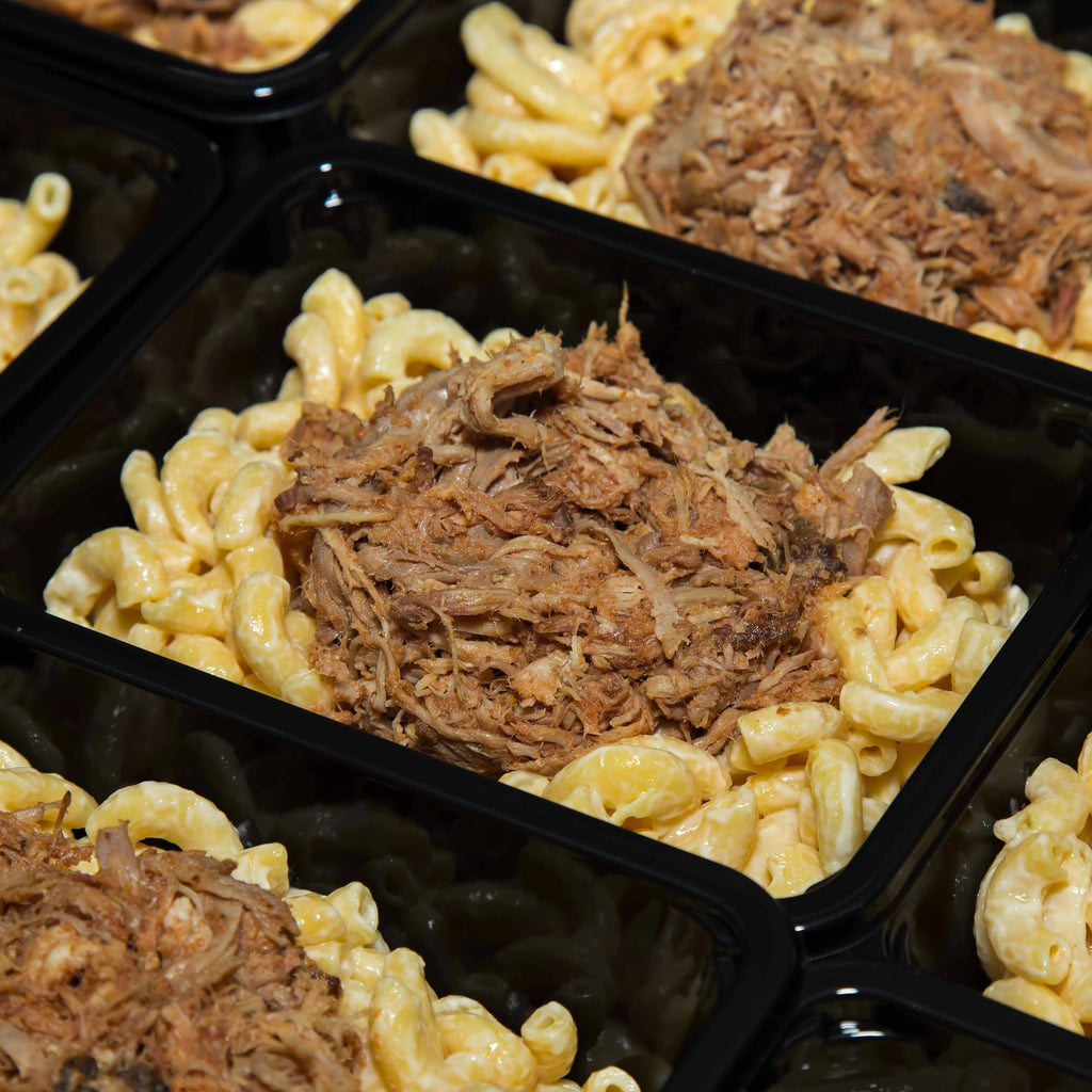 Cherry Wood Smoked Pork Mac and Cheese