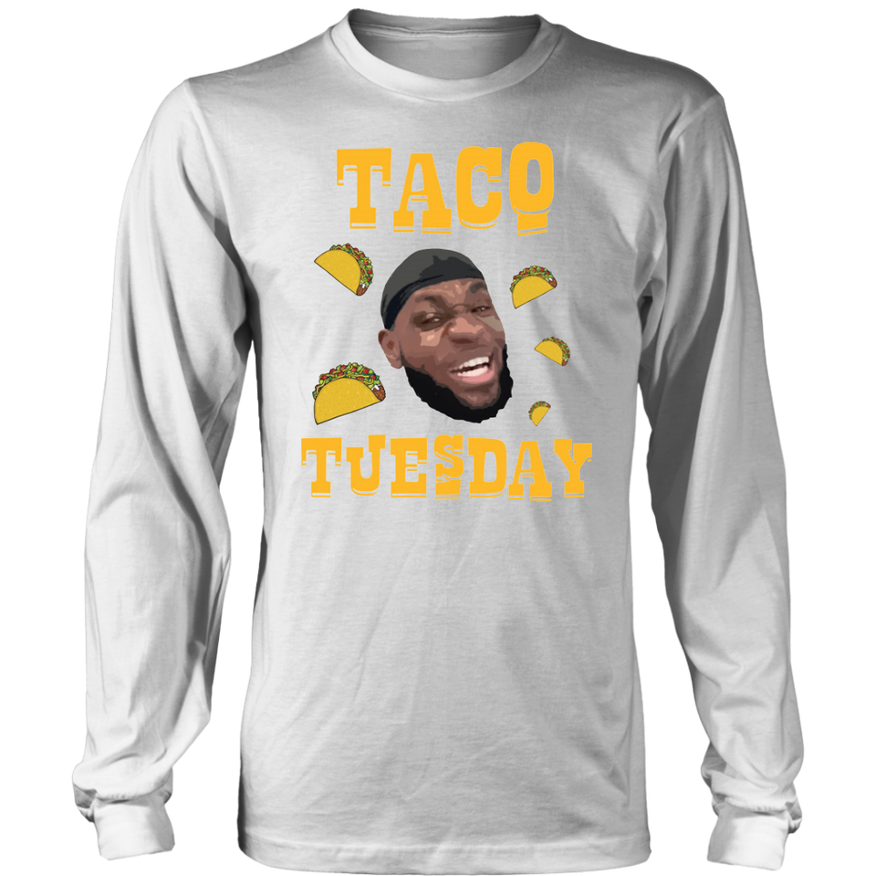 quality design 8485d c8390 Lebron James 'Taco Tuesday' NBA Los Angeles Lakers T-Shirt