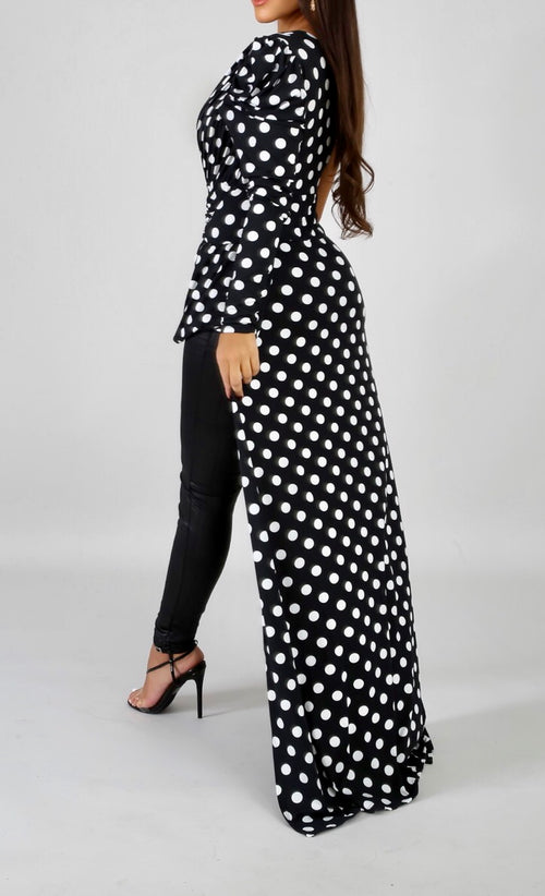 Connect the Dots Long Tail Top - Forbidden Fruits Boutique