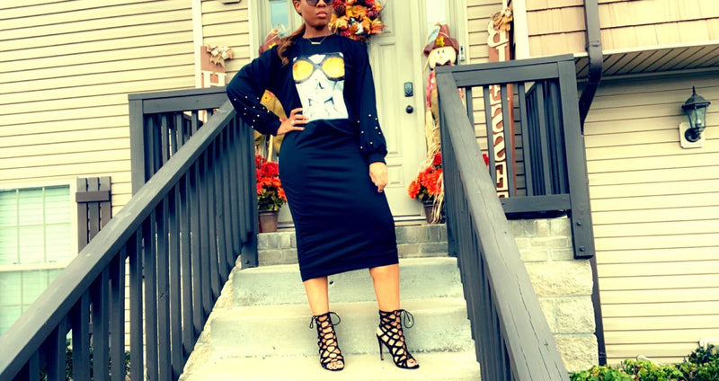 She's A Vibe Sweater Dress - Forbidden Fruits Boutique