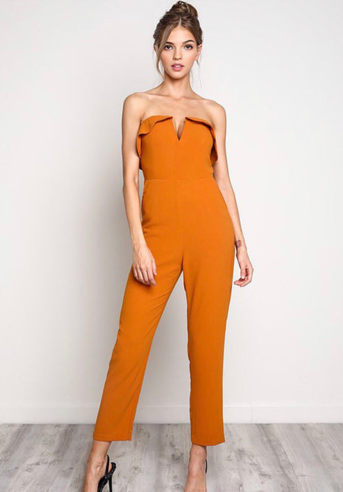 Autumn Jumpsuit - Forbidden Fruits Boutique