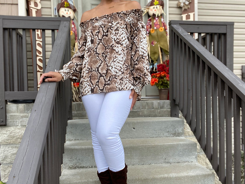 Jungle Fever Top - Forbidden Fruits Boutique
