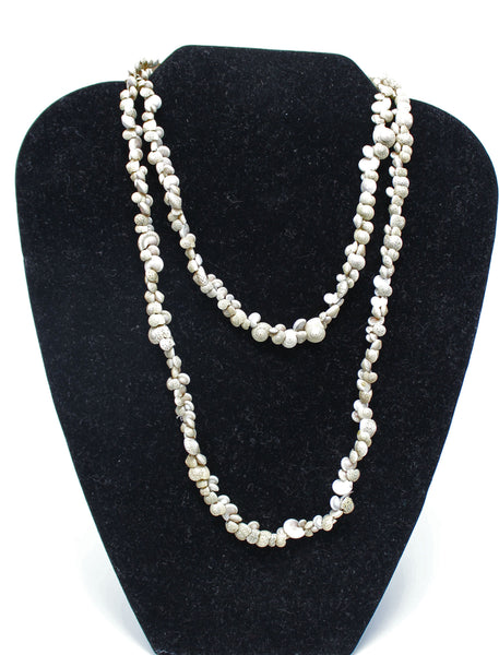 Real Shell Beaded Necklace