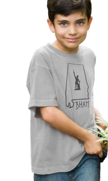 BHAM Vulcan on Toddler/Youth Organic Tee