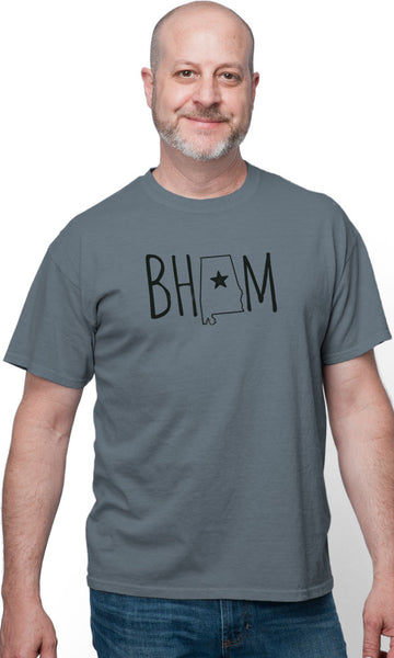 BHAM State on Short Sleeve Tee