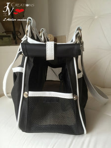METRO BAG - BLACK & WHITE