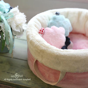 MILK VANILLA PUPPY BAG