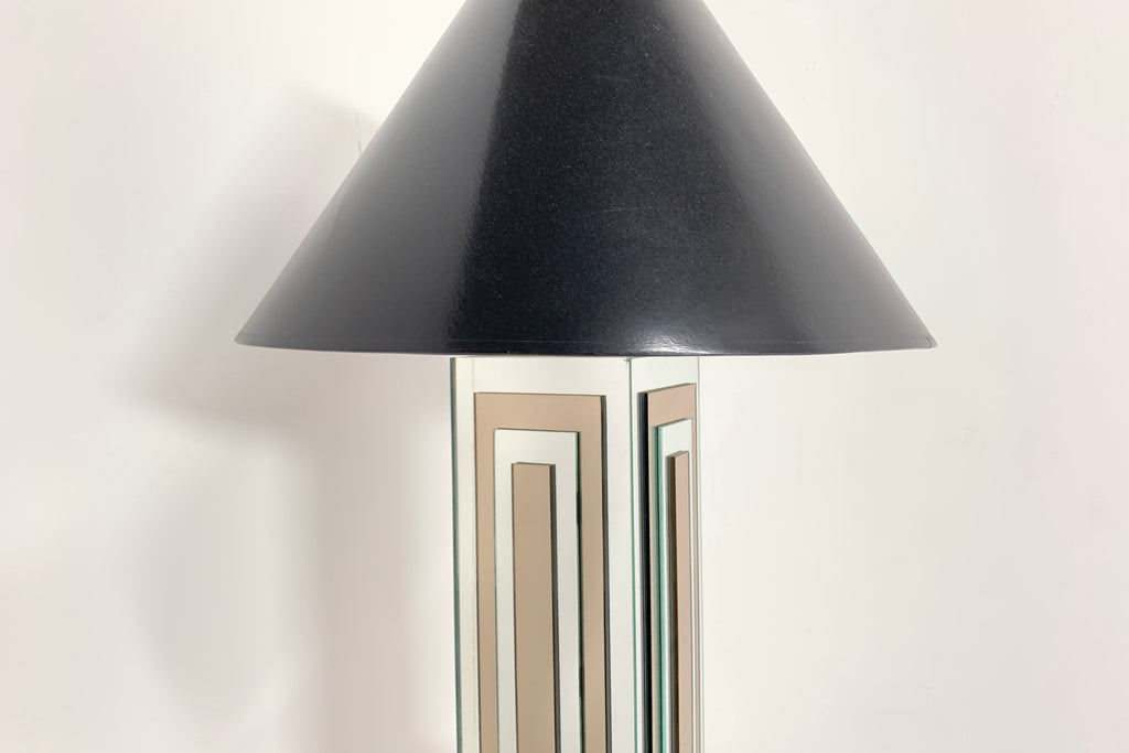 Deco Mirrored Lamp